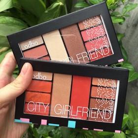 Bảng Phấn Mắt Nhũ Odbo City Girlfriend - B29