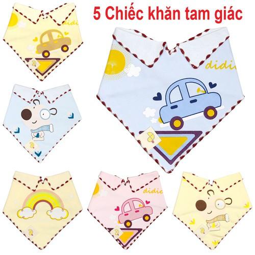 Combo 5 khăn tam giác thời trang cho bé trai và bé gái chất liệu cotton 2 lớp cao cấp mềm mịn giữ ấm cho bé - khăn quàng cổ cho bé - 21149519 , 24314104 , 15_24314104 , 55000 , Combo-5-khan-tam-giac-thoi-trang-cho-be-trai-va-be-gai-chat-lieu-cotton-2-lop-cao-cap-mem-min-giu-am-cho-be-khan-quang-co-cho-be-15_24314104 , sendo.vn , Combo 5 khăn tam giác thời trang cho bé trai và bé g
