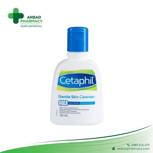 Cetaphil sữa rửa mặt dịu nhẹ cho mọi loại da gentle skin cleanser 125ml - 21151825 , 24317194 , 15_24317194 , 110000 , Cetaphil-sua-rua-mat-diu-nhe-cho-moi-loai-da-gentle-skin-cleanser-125ml-15_24317194 , sendo.vn , Cetaphil sữa rửa mặt dịu nhẹ cho mọi loại da gentle skin cleanser 125ml
