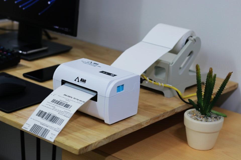 Tệp 500 Tờ Giấy in đơn hàng nhiệt tự dán dành cho máy in TMĐT ABIT Q900 Size 100x150mm