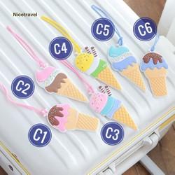 Thẻ hành lý que kem Siêu CUTE- SHOP10K