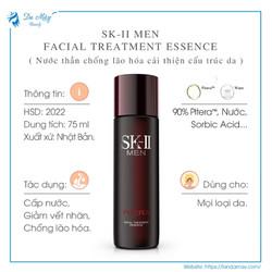 Nước Thần Chống Lão Hóa Cho Nam SK-II Men Facial Treatment Essence 75ml