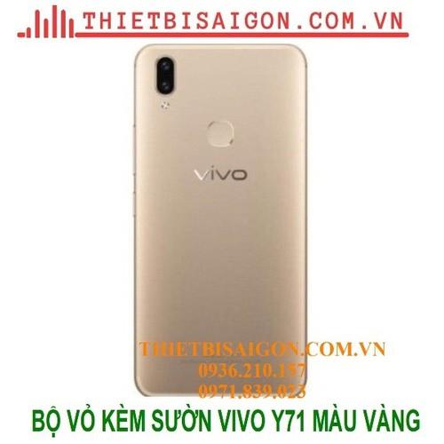 Bộ vỏ kèm sườn vivo y71 màu vàng - 19080777 , 24317715 , 15_24317715 , 165000 , Bo-vo-kem-suon-vivo-y71-mau-vang-15_24317715 , sendo.vn , Bộ vỏ kèm sườn vivo y71 màu vàng