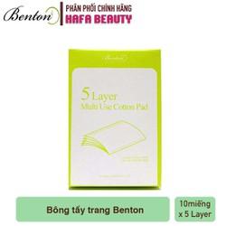Bông Tẩy Trang 5 Lớp Siêu Mỏng Benton 5-layer Cotton Pads
