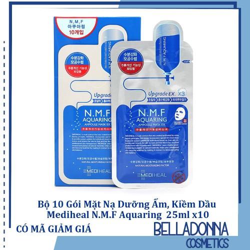 [Chính hãng] bộ 10 gói mặt nạ dưỡng ẩm, kiềm dầu mediheal. n.m.f aquaring ampoule mask 25ml x 10 gói - 21149139 , 24313639 , 15_24313639 , 219000 , Chinh-hang-bo-10-goi-mat-na-duong-am-kiem-dau-mediheal.-n.m.f-aquaring-ampoule-mask-25ml-x-10-goi-15_24313639 , sendo.vn , [Chính hãng] bộ 10 gói mặt nạ dưỡng ẩm, kiềm dầu mediheal. n.m.f aquaring ampoule