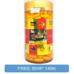 Sữa Ong Chúa Costar Roya Jelly 1610 mg hộp 365 viên từ Úc hàng công ty có tem