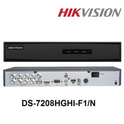 Đầu ghi hình HD-TVI 8 kênh TURBO 3.0 HIKVISION DS-7208HGHI-F1-N