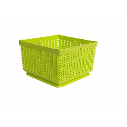 Rổ vuông nhựa thắng lợi kích thước 15x15x10cm - 21157656 , 24325218 , 15_24325218 , 24000 , Ro-vuong-nhua-thang-loi-kich-thuoc-15x15x10cm-15_24325218 , sendo.vn , Rổ vuông nhựa thắng lợi kích thước 15x15x10cm