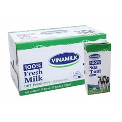 Combo 5 hộp sữa tươi Vinamilk 1lít