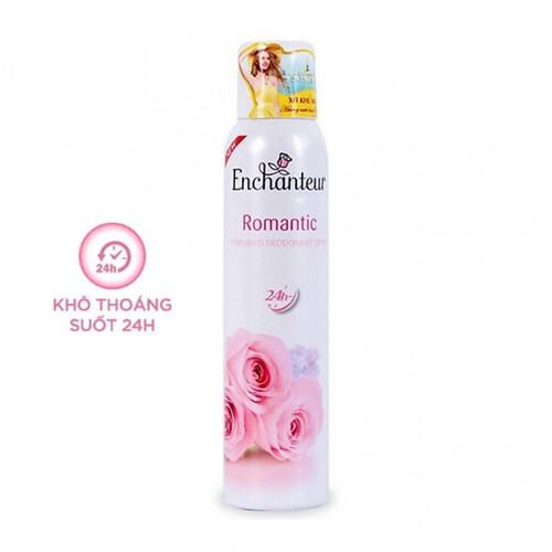 Xịt khử mùi nước hoa enchanteur romantic 150ml lãng mạn nhẹ nhàng ngăn mồ hôi mùi cơ thể - 21452811 , 24728692 , 15_24728692 , 84000 , Xit-khu-mui-nuoc-hoa-enchanteur-romantic-150ml-lang-man-nhe-nhang-ngan-mo-hoi-mui-co-the-15_24728692 , sendo.vn , Xịt khử mùi nước hoa enchanteur romantic 150ml lãng mạn nhẹ nhàng ngăn mồ hôi mùi cơ thể
