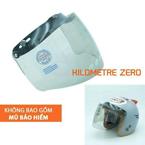 Kính gắn nón bảo hiểm 3 4 và nón 1 2 kính chống tia uv