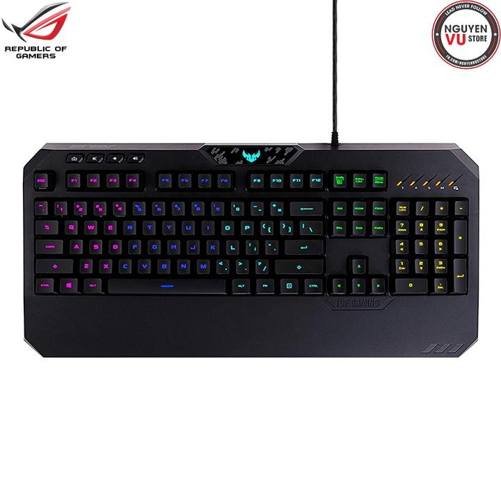 Bàn phím chơi game ASUS TUF Gaming K5 RGB