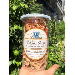 Mực sợi Nha Trang hấp nước dừa 400g - combo 2 hộp siêu ngon siêu đẹp - mỗi hộp 200g