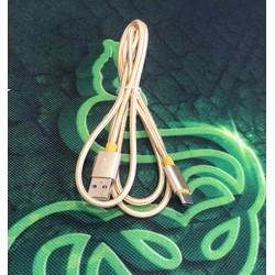 BH 12 tháng- Cáp sạc usb Type C dây dù dài 1.2 mét DLC2528G