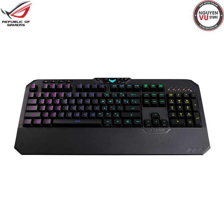 Bàn Phím Chơi Game Asus TUF Gaming K5 RGB Aura Sync