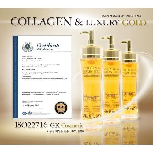 Tinh chất dưỡng trắng, tái tạo da chống lão hóa 3w clinic collagen luxury gold 150ml + tặng 1 băng đô quấn tóc tai thỏ xinh xắn - 21170034 , 24342693 , 15_24342693 , 250000 , Tinh-chat-duong-trang-tai-tao-da-chong-lao-hoa-3w-clinic-collagen-luxury-gold-150ml-tang-1-bang-do-quan-toc-tai-tho-xinh-xan-15_24342693 , sendo.vn , Tinh chất dưỡng trắng, tái tạo da chống lão hóa 3w clin