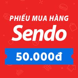 [E-Voucher] PHIẾU MUA HÀNG SENDO TRỊ GIÁ 50.000 ĐỒNG