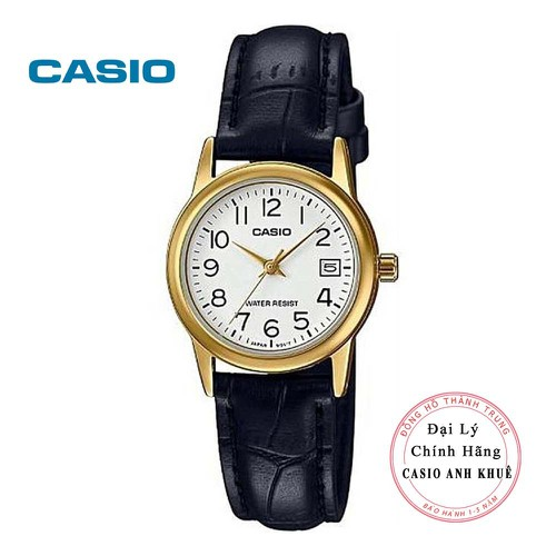 Đồng hồ nữ casio ltp-v002gl-7b2udf dây da - 21164510 , 24335657 , 15_24335657 , 729000 , Dong-ho-nu-casio-ltp-v002gl-7b2udf-day-da-15_24335657 , sendo.vn , Đồng hồ nữ casio ltp-v002gl-7b2udf dây da