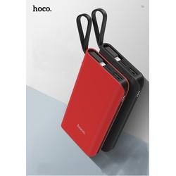 Pin sạc dự phòng di động Hoco J25A 10000mAh Tích hợp sẵn cáp sạc Iphone 5-6-7-8-X-S-XS Max - Hàng chính Hãng