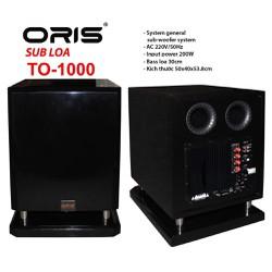 Loa Sub Oris TO-100 3 tấc cao cấp - hàng chính hãng, bass sâu mềm