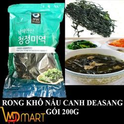 GIẢM GIÁ SỐC Rong biển khô nấu canh Hàn Quốc 200gr