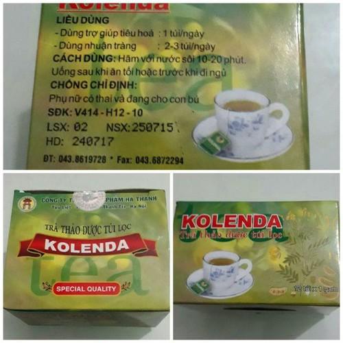 Combo 10 hộp trà túi lọc kolenda giải pháp cho người táo bón - 21180300 , 24356823 , 15_24356823 , 118000 , Combo-10-hop-tra-tui-loc-kolenda-giai-phap-cho-nguoi-tao-bon-15_24356823 , sendo.vn , Combo 10 hộp trà túi lọc kolenda giải pháp cho người táo bón