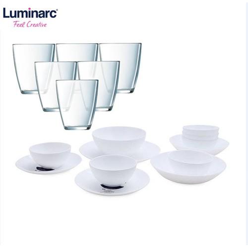 Combo bộ chén bát đĩa diwali luminarc 12 món + bộ 6 ly cao thủy tinh luminarc neo 310ml - 21166118 , 24337561 , 15_24337561 , 929000 , Combo-bo-chen-bat-dia-diwali-luminarc-12-mon-bo-6-ly-cao-thuy-tinh-luminarc-neo-310ml-15_24337561 , sendo.vn , Combo bộ chén bát đĩa diwali luminarc 12 món + bộ 6 ly cao thủy tinh luminarc neo 310ml