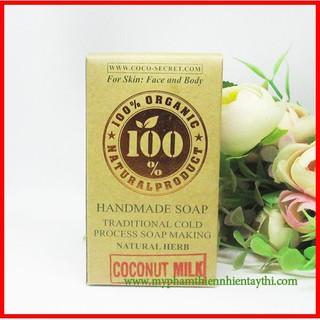 Xà Bông Sữa Dừa Coconut Milk Coco Secret - 852 thumbnail