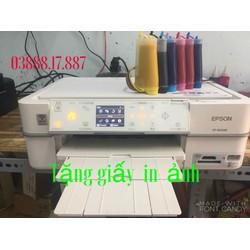 Máy in Epson 803a - gắn hệ thống 600ml mực dầu Pigment UV siêu mịn