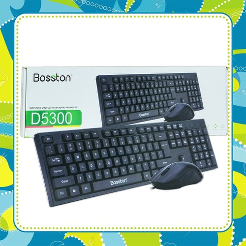 Combo bàn phím +chuột bosston d5300 usb đảm bảo chính hãng - 21196888 , 24380358 , 15_24380358 , 99000 , Combo-ban-phim-chuot-bosston-d5300-usb-dam-bao-chinh-hang-15_24380358 , sendo.vn , Combo bàn phím +chuột bosston d5300 usb đảm bảo chính hãng