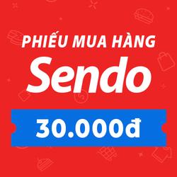 [E-Voucher] PHIẾU MUA HÀNG SENDO TRỊ GIÁ 30.000 ĐỒNG