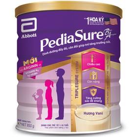 Sữa bột Pediasure 850g - pediasure - SB Pediasure 850g - pediasure