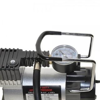 Máy Bơm Ô tô xe máy Mini Tiện Cầm tay - máy bơm lốp ô tô 12V thumbnail