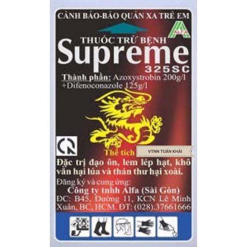 Thuốc trừ bệnh cây trồng supreme 325sc