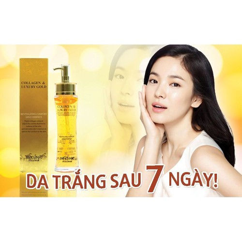 Serum collagen & luxury gold 3w clinic 150ml - xuất xứ hàn quốc