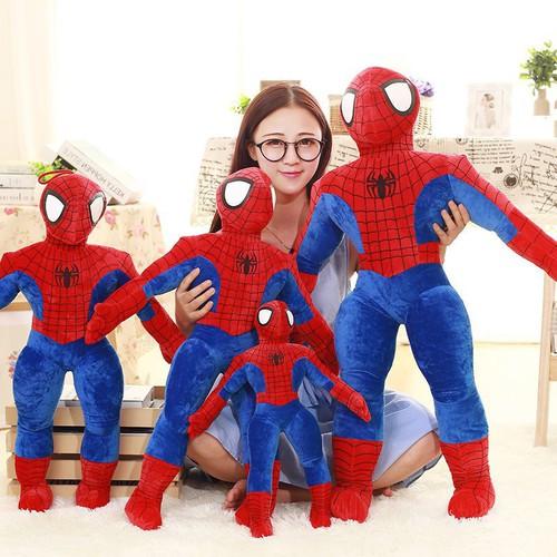Gấu bông gối ôm siêu nhân người nhện đủ size - 19384207 , 24373929 , 15_24373929 , 90000 , Gau-bong-goi-om-sieu-nhan-nguoi-nhen-du-size-15_24373929 , sendo.vn , Gấu bông gối ôm siêu nhân người nhện đủ size