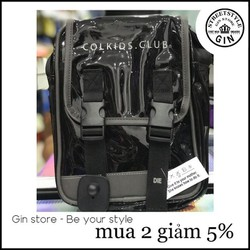 Túi mini colk.ids đen trong - Gin store