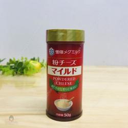 Phô mai rắc Powdered Cheese nhập khẩu Nhật Bản - hộp 50g