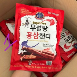 Kẹo sâm đỏ Korea gói 200mg thơm miệng giảm ngứa rát cổ họng