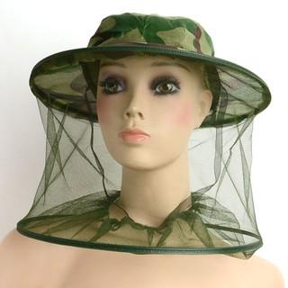 Mũ nuôi ông bảo hộ có lưới, mũ bắt ong rừng - mũ ong 1 thumbnail