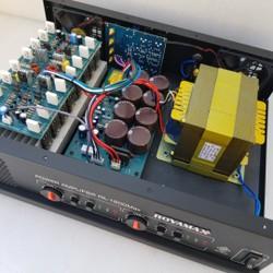 cục đẩy ROYAMAX 1600Max 16 sò có treble bass cao cấp