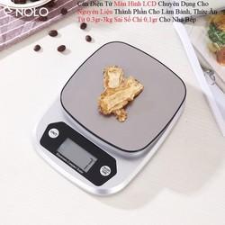 Cân Điện Tử Màn Hình LCD SH131 Chuyên Dụng Cho Nguyên Liệu Thành Phần Làm Bánh, Thức Ăn Từ 0.3gr-3kg Sai Số Chỉ 0,1gr Cho Nhà Bếp