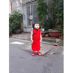 Đầm đi chơi cho bé gái
