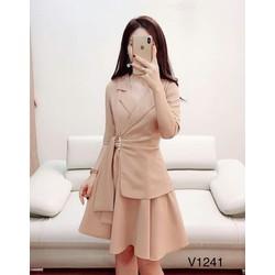 Váy thiết kế cao cấp DVC v1241
