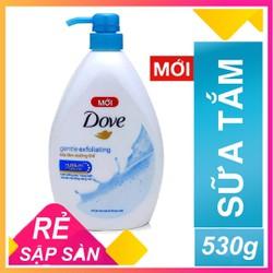 [ SALE SỐC ] Sữa tắm Dove dưỡng ẩm sáng mịn Gentle Exfoliating 530g
