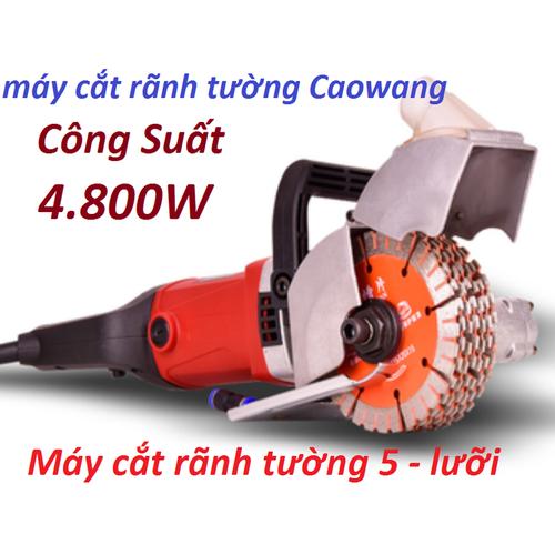 Máy cắt rãnh tường 5 lưỡi - cw488