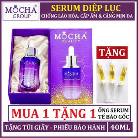 SERUM DIỆP LỤC MOCHA - SERUM DL MOCHA TẶNG ỐNG SERUM