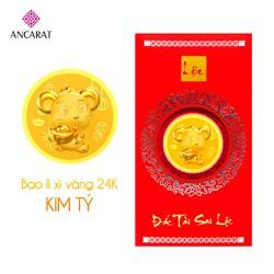Bao lì xì vàng Kim Tý 2020 - Mẫu 3 - ANCARAT