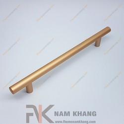 Tay nắm tủ dạng thanh tròn màu vàng mờ NK238-160VM
