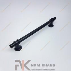 Tay nắm tủ cổ điển màu đen NK207-160DM